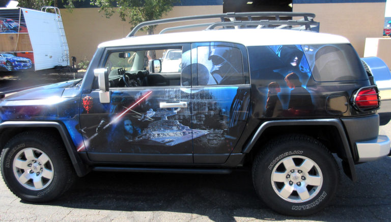 Starwars FJ Cruiser